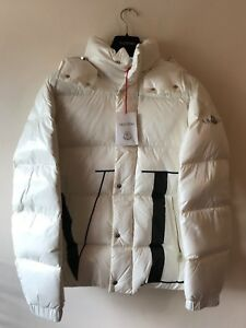 1ed2670cc Details about Mens Designer Moncler X Valentino VLTN Collaboration Down  Quilted Jacket White