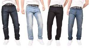 Disenador-para-Hombre-Enzo-Jeans-Regular-Fit-Denim-Pantalones-Pantalones-Big-amp-Tall-Todas-Cintura