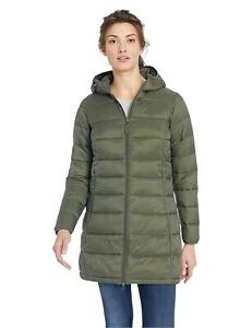 Essentials Women's Lightweight Water-Resistant, Olive, Size X-Large BCwR