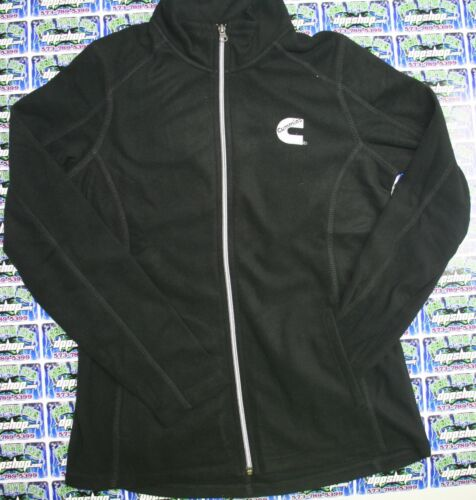 Dodge Cummins sweatshirt black long sleeve sweater ladies ZIP fleece MEDIUM
