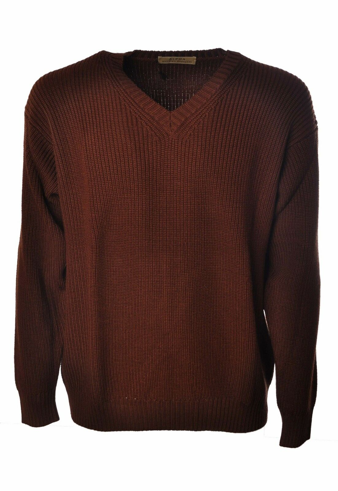 Alpha  -  Sweaters - Male - Brown - 3766128A183821