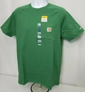 bd6da029 Image is loading Carhartt-Force-Cotton-Delmont-Short-Sleeve-Pocket-T-