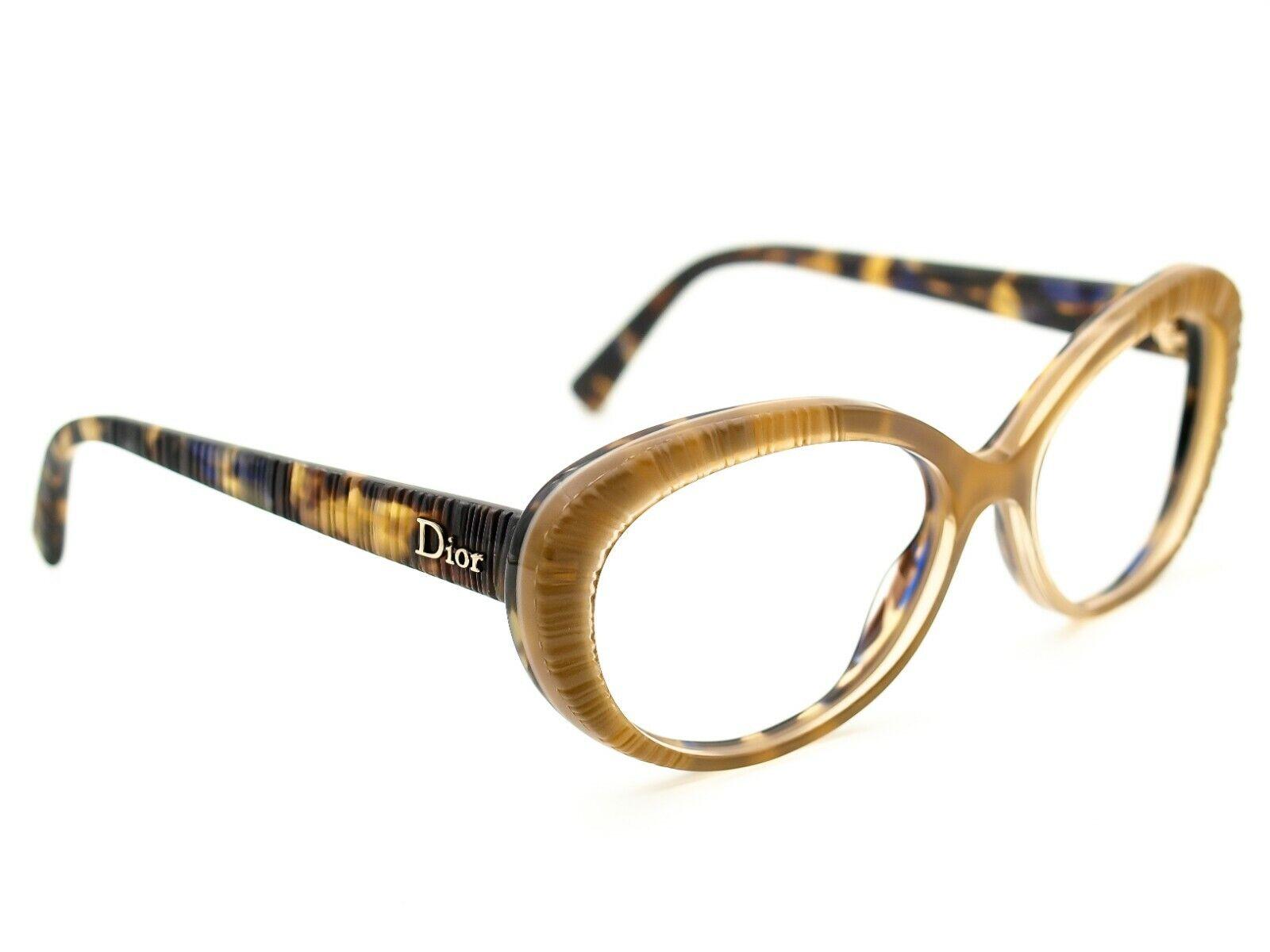 Dior Sunglasses FRAME ONLY Taffetas 3 2GSBA Honey/Tortoise Italy 56[]16 135