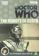 Doctor Who - The Robots Of Death Tom Baker, Louise Jameson Brand New Sealed DVD