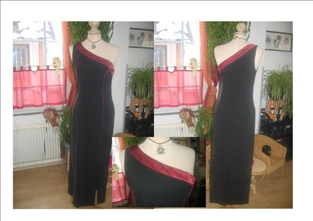 K & K K K Trachtenkleid in schwarz   rot Gr. 36  Neu Top | Guter weltweiter Ruf  | Elegant  | Moderne Muster  a868d6