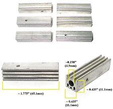 6pc 1968 Cox 1:24 Slot Car Pro Controller ALUMINUM UPPER HEAT SINK Use1or More!