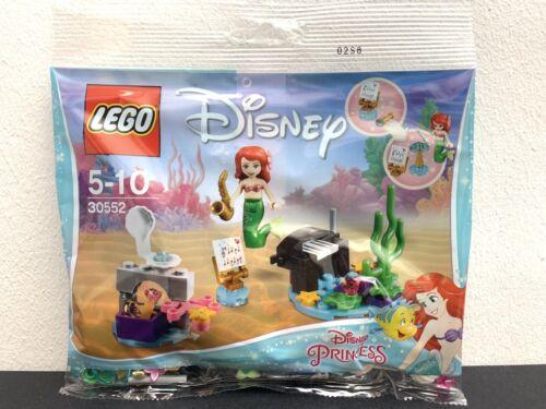 New Sealed Bags LEGO 30552 Ariel's Underwater Symphony Polybag Disney