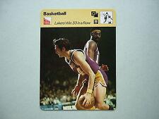 1977 1977/79 SPORTSCASTER NBA BASKETBALL PHOTO WILT CHAMBERLAIN L.A. LAKERS NICE