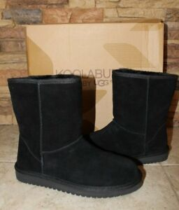 CLASSIC SHORT Winter Lined Boots BLACK