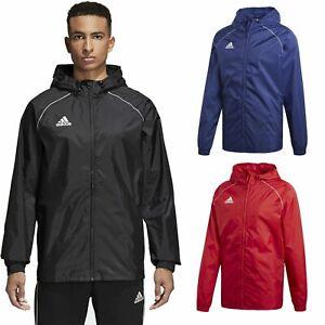 Adidas-Boys-Waterproof-Jacket-Kids-Water-Resistant-Hooded-School-Rain-Coat