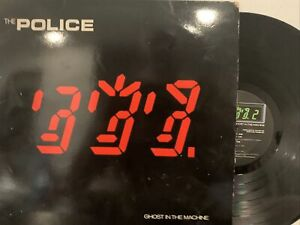 The-Police-Ghost-In-The-Machine-LP-1981-A-amp-M-Records-AMLK-63730-Prog-Rock-VG