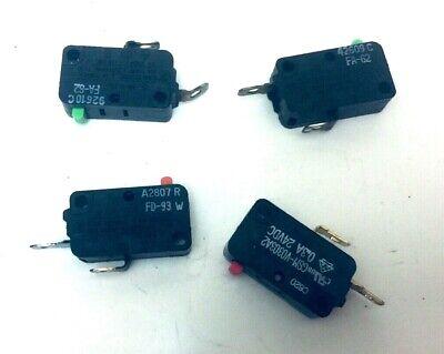 Sharp Microwave Oven Model R 65125 4 Pieces Door Switch