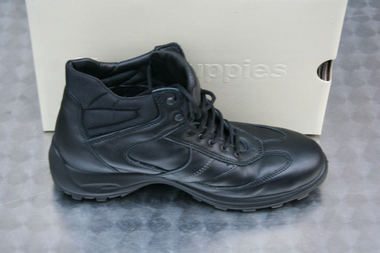 Hush Puppies schwar/grau Gr.40  Stiefel Boots    Gr.40    -NEU- d4b383