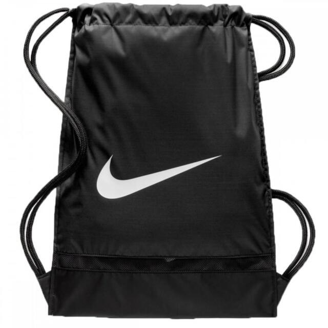 9e9e06194ffe Nike Brasilia Gymsack Drawstring Bag Backpack Gym Sack Black Ba5338 010