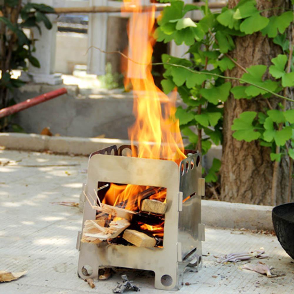 Portable Outdoor Wood Burning EcoZoom Rocket Dura Stove Camping ...