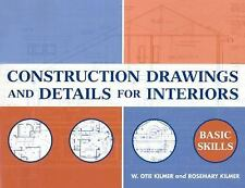 Construction Drawings and Details for Interiors: Basic Skills, , Rosemary Kilmer