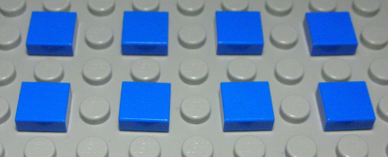 Lego--4162 Fliese-Kachel 1 x 8 Schwarz 4 Stück