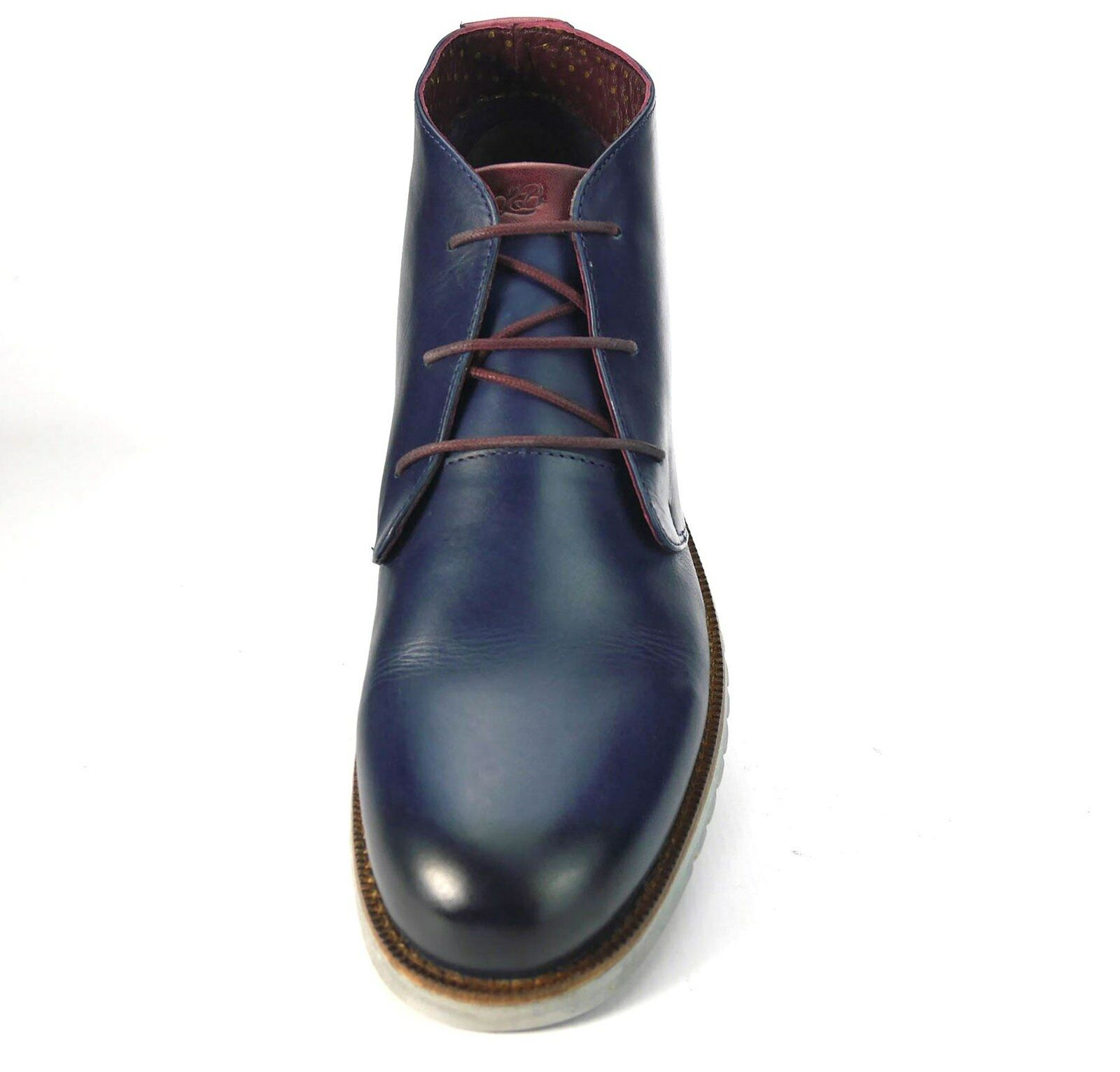 London Brogues Gatz  Lightweight Uomo Casual Chukka Ultra Lightweight  Stiefel Navy Schuhes 5c593b