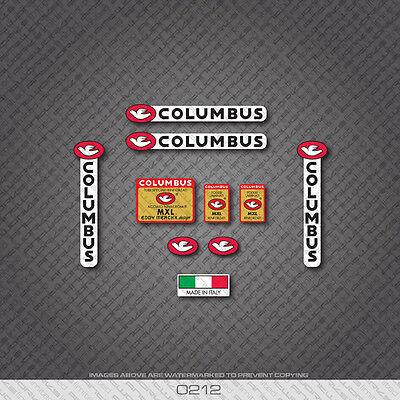 Columbus Eddy Merckx MXL Tubing Frame /& Fork Decals-Transfers-Stickers #25B