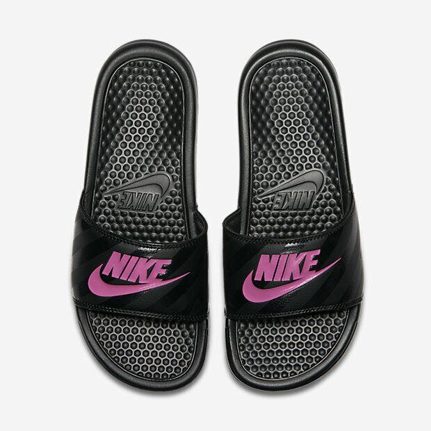 Subvención color Seguir  Nike Womens Benassi JDI Metallic QS Slide Sandal Metallic Black Sz 9 Aa4149  001 for sale online | eBay