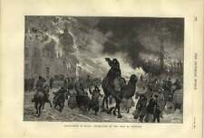 1879 Incendiarism In Russia Destruction Of Town Of Orenburg