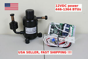 12v Dc Mini Refrigeration Compressor Fridge Freezer Marine Solar Qx19 12 R134a Ebay
