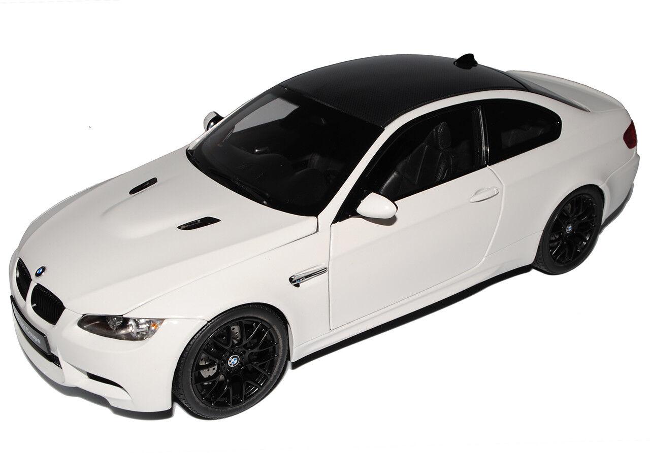 BMW 3er E E E 92 M3 Coupe Alpine Weiss 2005-2013 1 18 Kyosho Modell Auto mit oder .. cd4991