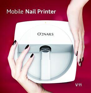 Image Is Loading O2nails Professional Nail Art Printer