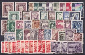 Osterreich-Jahrgang-1947-postfrisch-54-Werte