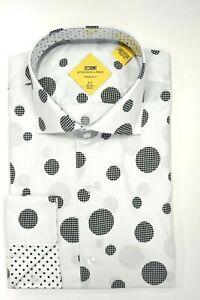 Big /& Tall Fit Dress Shirt Steven Land Men/'s Cotton French Cuff Regular