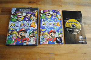 Jeu-MARIO-PARTY-4-sur-Nintendo-GameCube-GC-COMPLET-PAL-Remis-a-neuf