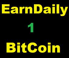 Earn Daily 1 BitCoin