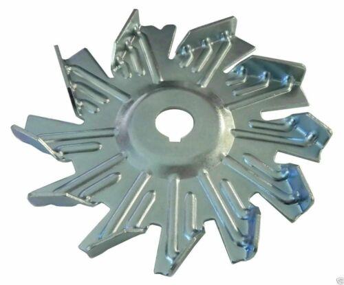 Alternator Fan Single Groove Standard Offset Pulley 1pc all Models 1964-81 GM