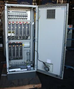 Image Is Loading Large Rittal Ps4884 Electrical Cabinet Moeller Switches Contactor