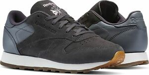 Classic Size Sneaker Femmes Bs5113 Leather Grey New shoes Suede 42 Womens Reebok f7w1pqx5