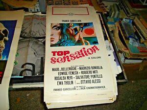 TOP-SENSATION-locandina-originale-1969-BONUGLIA-FENECH-NERI-THULIN