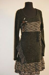 Nine West Boysenberry Dress Size L Casual Combo Shift Tunic Women/'s New*
