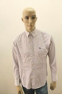 Camicia-ETRO-Uomo-Milano-Shirt-Chemise-Camisa-Bluse-Blusa-Man-Taglia-Size-39-M