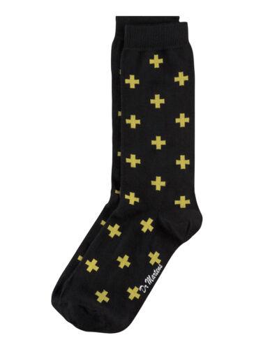 Dr Martens Yellow Cross Logo Socks