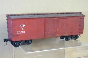 Lgb Kit À Numéros Construit Échelle 1 Sp Southern Pacific Box Car Wagon Belle Mw