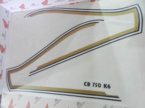 Honda CB750 Four K6 Tank Stripe Kit Decal Set New