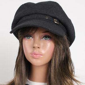 cc6f4456fa5b4 New 6 Panel Applejack Women Fashion Hat AHN Unisex Wool Gatsby ...