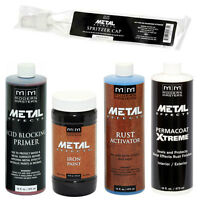 Modern Masters Metal Effects Iron Paint & Rust Activator Kit 16oz Size