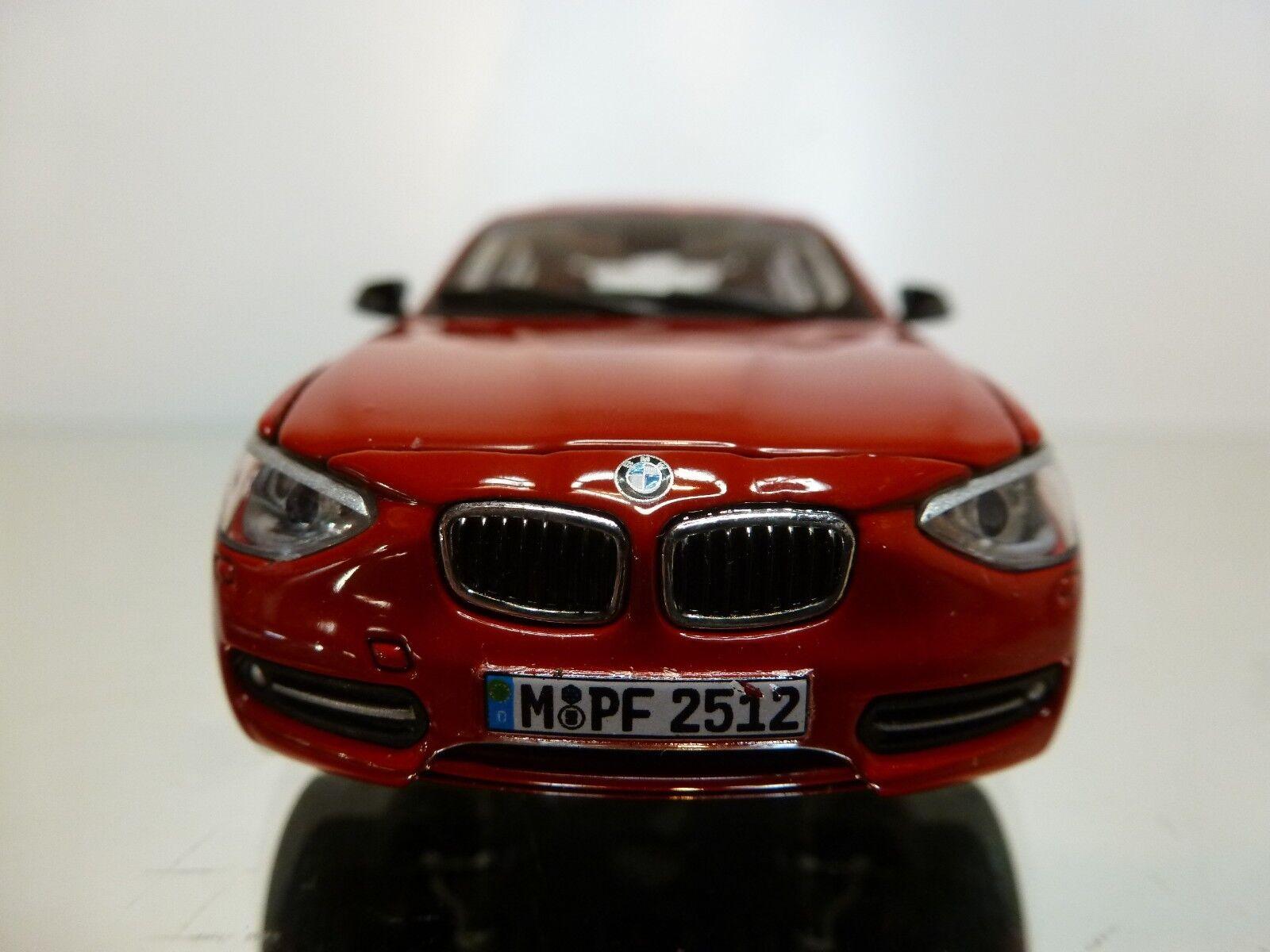 AUTOart AUTOart AUTOart BMW 125i SPORT E87 LCI - 2011 - rojo 1 43 - EXCELLENT CONDITION - 34 8a61f8