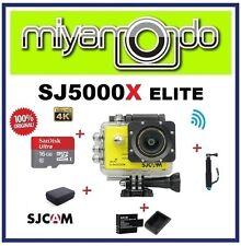 SJCAM SJ5000X WiFi Action (Yellow) + Monopod + Sandisk 16GB + Batt+Charger + Bag