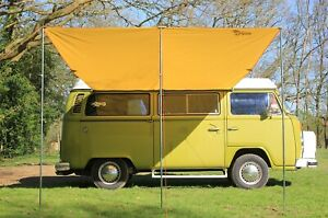 VW Campervan Sun Canopy Awning + T2 T25 Connection Kit ...