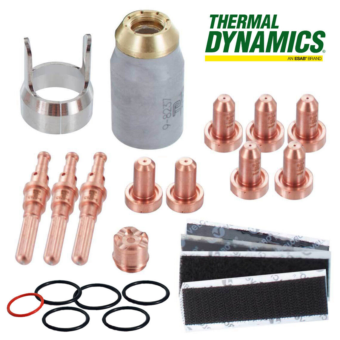 5-0075 Genuine Thermal Dynamics SL60 Torch 60 Amp Consumables Parts Kit