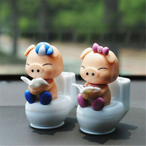 Cute-Solar-Powered-Flip-Flap-Bobble-Head-Pig-Dancing-Toy-Home-Room-Decor-Gift