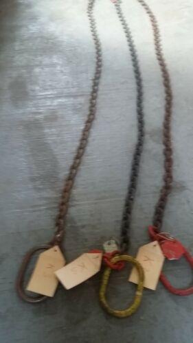 Stahlkette 5 m Holzrücken,schwarz  k4 Trecker Schlepper Waldarbeit Unimog