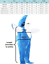 Details about  /Adults Kids Halloween Christmas Cosplay Costume Shark Stage Fancy Dress Jumpsuit